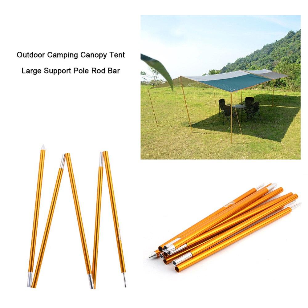 Aviation En Alliage D'aluminium Camping En Plein Air Tente Auvent Grand Soutien Pôle Léger Tente Pôle Tige Bar Accessoriess nouveau