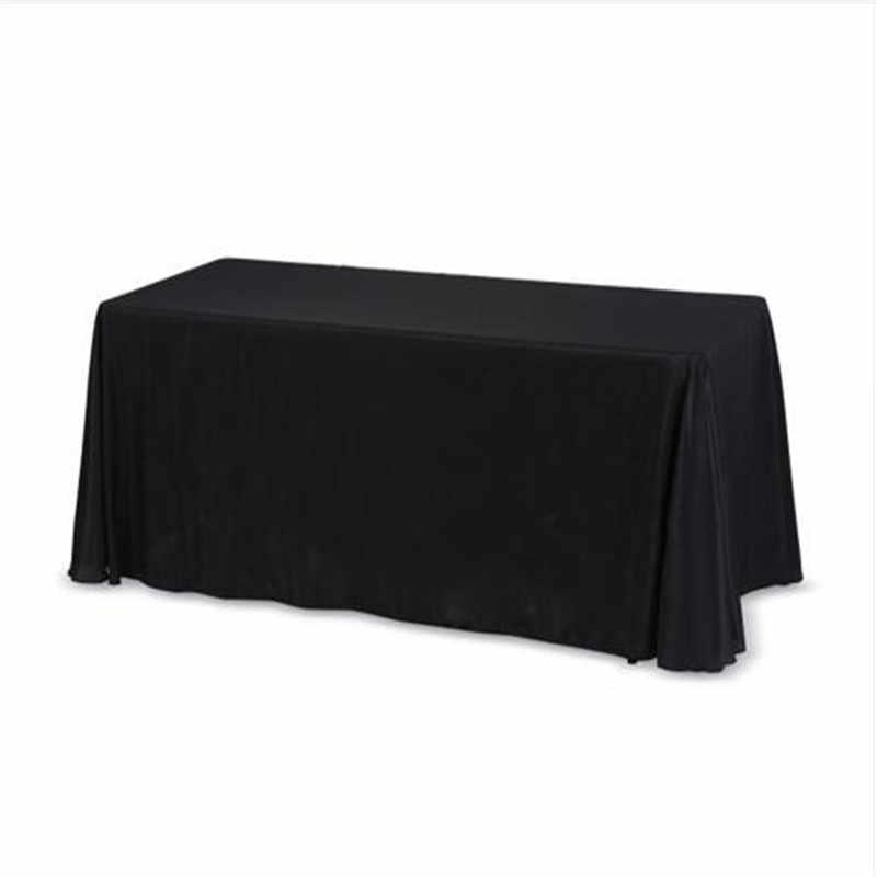 Menyesuaikan Setiap Pola Taplak Meja Persegi/Persegi Panjang Natal/Pernikahan/Pesta/Cover Meja Putih Anime/Bunga/ hewan Taplak Meja
