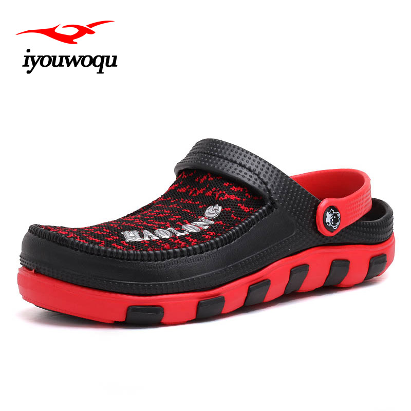 Hot Sale New 2017 Summer Casual Mens Beach Clogs Sandal Comfortable Jell Shoes Leisure Flip Flop