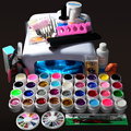 Nail Art Manicure Set 36W Nail Dryer UV Lamp with 36 Colors UV Gel Kit Nail Gel Manicure Tools