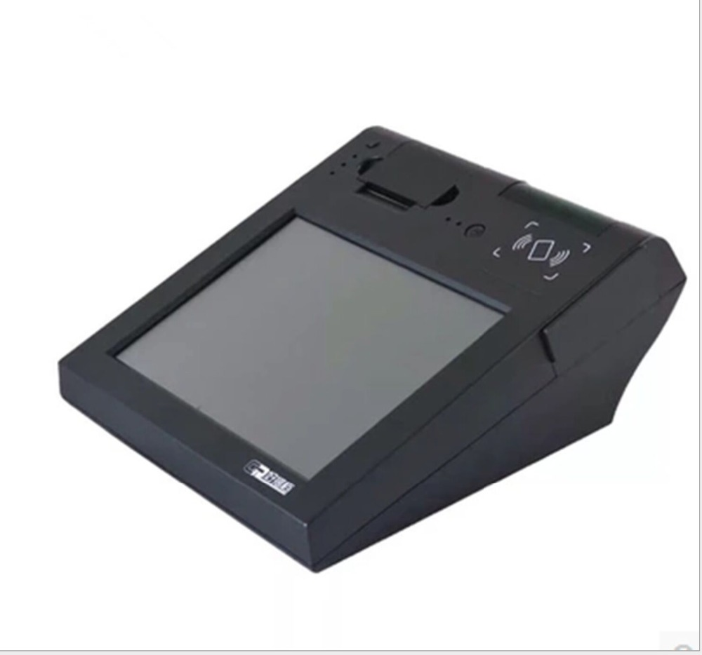 12 Inch Horizontal POS All In One With Android / Wifi / Printer