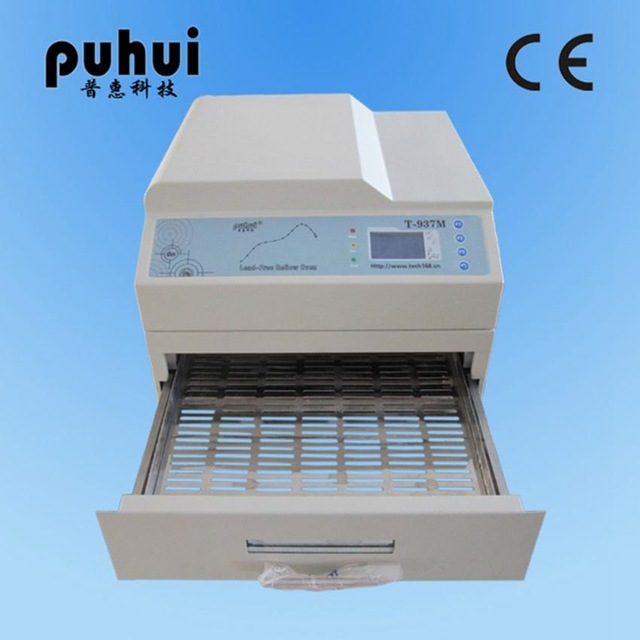 1pc New Arrival PUHUI T 937M Reflow Oven T937M Lead free Reflow Solder Oven BGA SMD