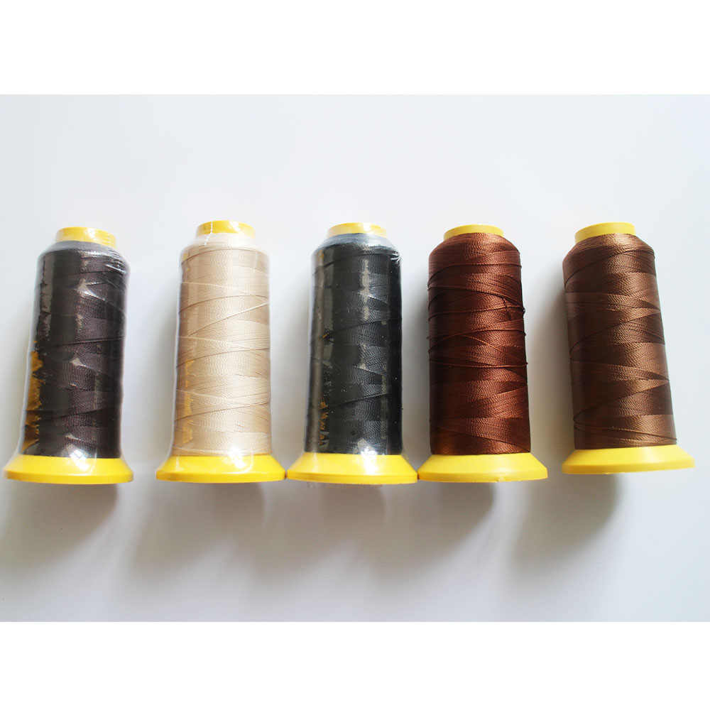 Thread for Weaving for hair extension High Intensity Polyamide Nylon 1pc/pack 5 colors,please remark color when when you order