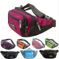 Men Women Nylon Fashion Casual Fanny Pack Waist Bag Hip Bum Pouch Shoulder Bag Simple Waist Packs
