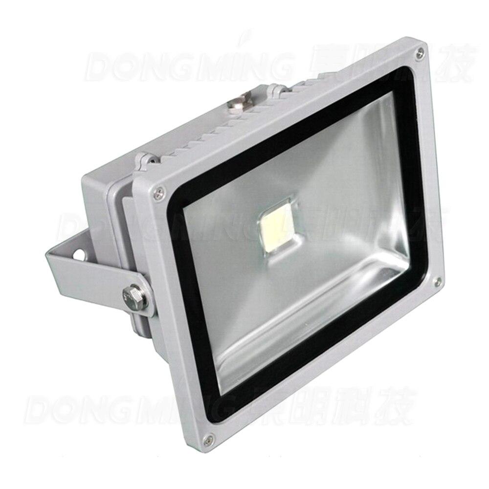 Promotion étanche haute qualité 50 w A MENÉ la lumière D'inondation pour La Publicité lampe argent forme 4000lm projecteur LED Projecteur