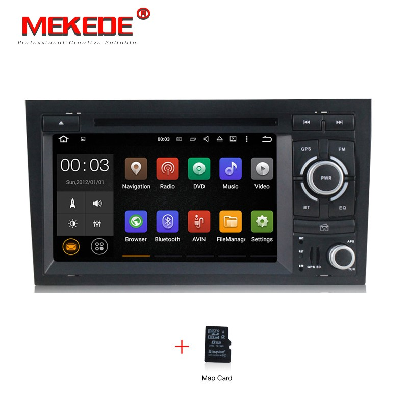 Android 5 1 1 Car DVD Player For Audi A4 S4 RS4 2002 2008 Head Unit