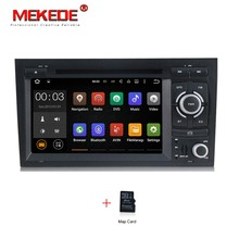 android 7.1 2G RAM Car DVD player for Audi A4 S4 RS4 2002 – 2008 head unit with 4 Core GPS navigation Radio WiFi   free shipping