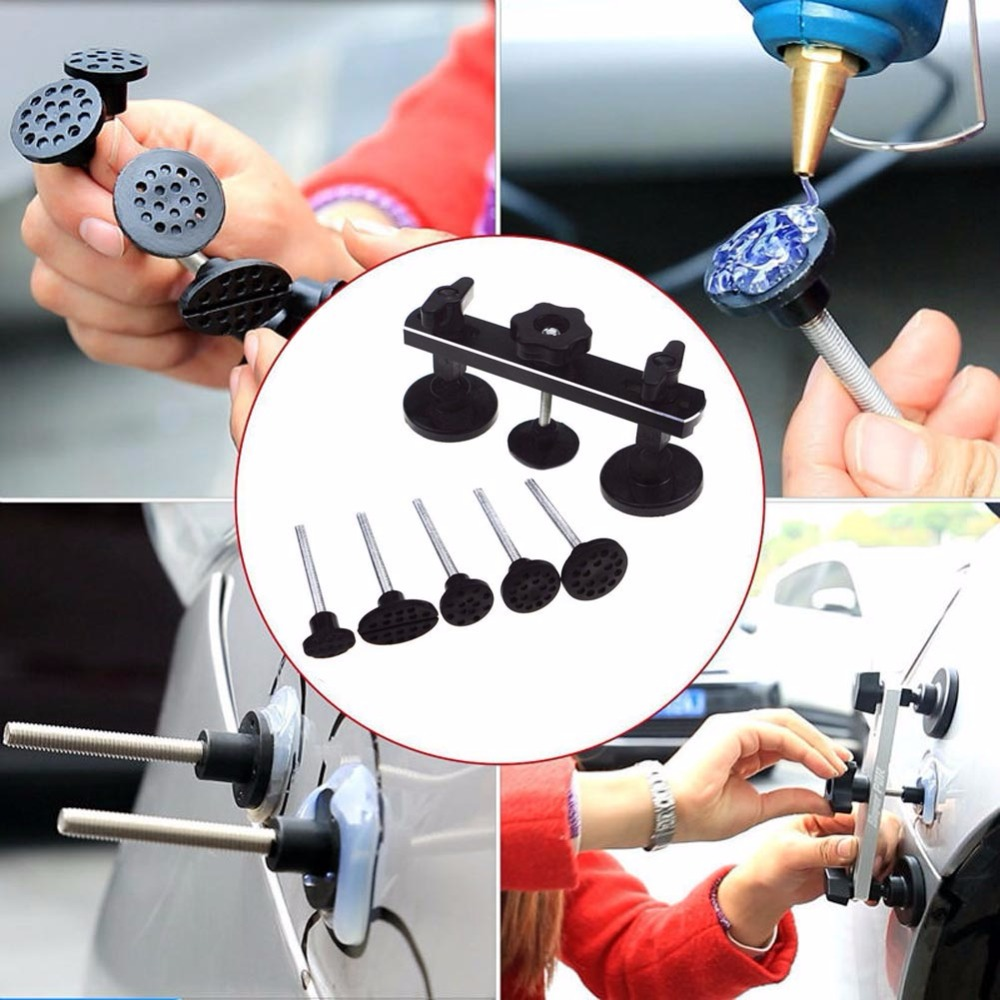 Competent Paintless Dent Repair Tools Pulling Bridge Auto Body Car Dent Repair Removal Tool Kit Set For Car Body Refrigerator Surface Tool Hand Tool Sets Tool Sets