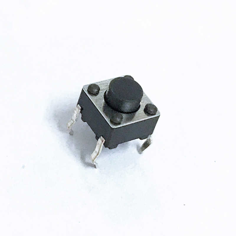 100pcs 6*6*5mm Light Touch Switch DIP4 ON/OFF Touch Button Touch Micro Switch 6*6*5 Keys Button DIP 4pin 6x6x5 High Quality