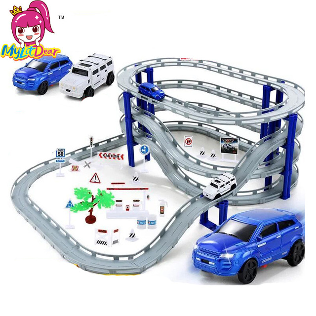 Aliexpress.com : Buy DIY Electric Racing Rail Car Kids ...