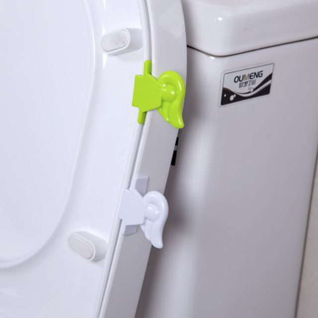 Bath Set Angel Wings Toilet Cover Lifting Device Bathroom Lid Lifter