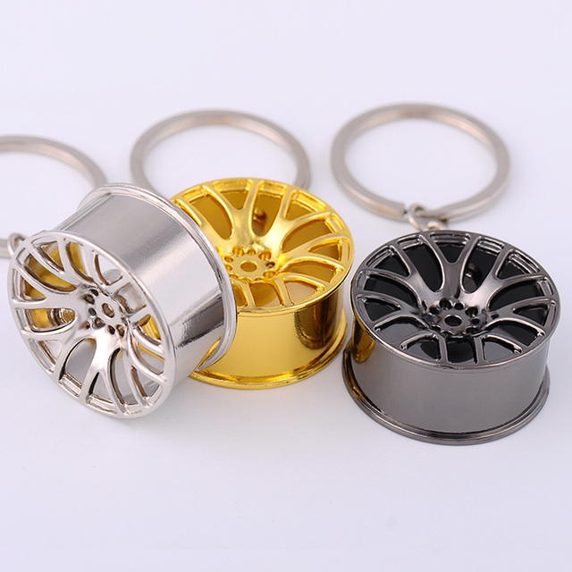 wheel rim keychain key ring wheel hub key chain key holder creative chaveiro portachiavi llaveros hombre