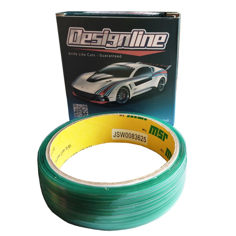 50M Vinyl Wrap Car Stickers Knifeless Tape Design Line Car Film Wrapping Cutting Tape Knife Car Styling Tool Accessories E28