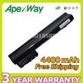 Apexway 4400 mah 11.1 v bateria do portátil 530973-741 537626-001 537627-001 série hstnn-cb0c para hp mini 110c mini cq10-100 mini 110