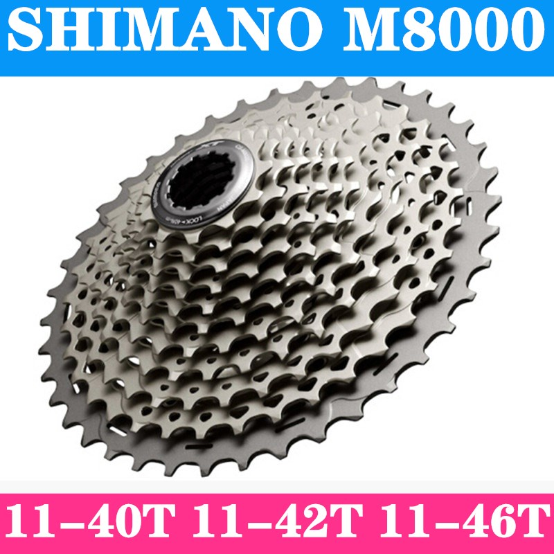 New Shimano Deore XT CS-M8000 MTB Bicycle Mountain Bike 11-Speed Cassette 11-40T