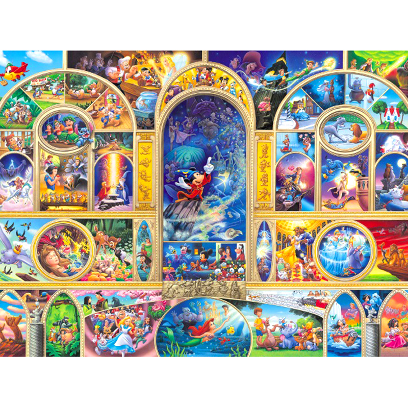 Full Square/Round Drill 5D DIY Diamond Painting cartoon Character 3D Embroidery Cross Stitch Mosaic Rhinestone Home Decor Gift