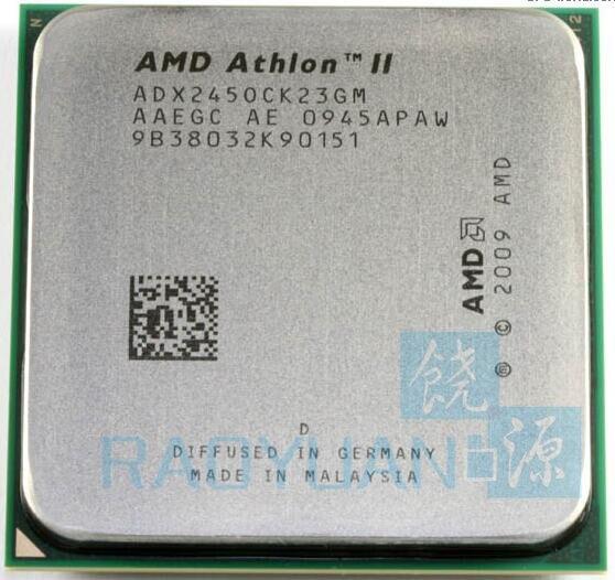 AMD Athlon II X2 245 2.9GHz/2M/65W Dual-Core CPU Processor ADX245OCK23GM ADX245OCK23GQ  Socket AM3 938pin