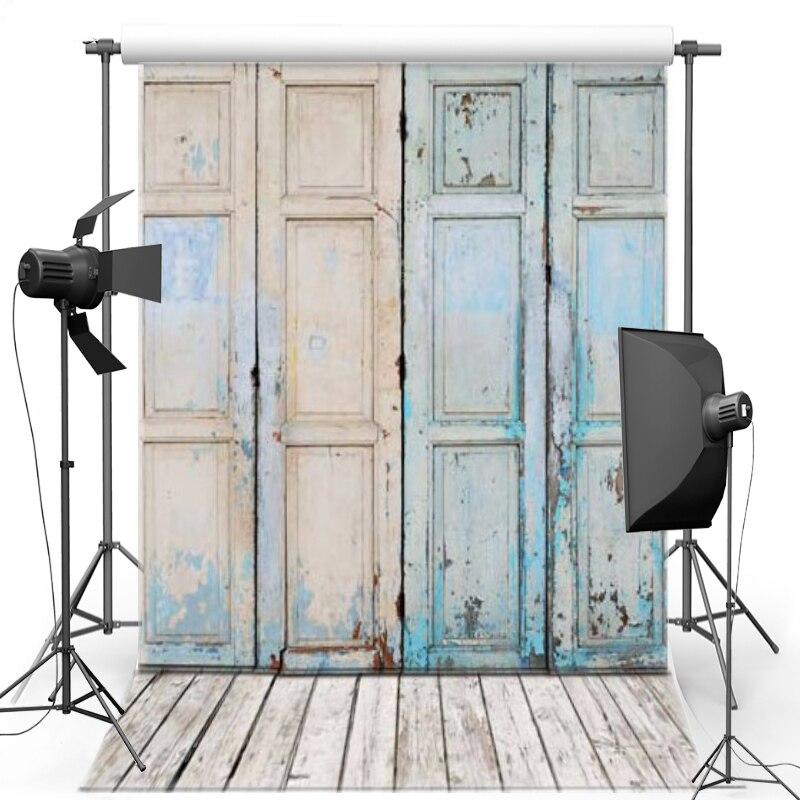 MEHOFOTO Wood Door Vinyl Photography Background Wood Floor New Fabric Flannel Backdrop For Children photo studio Props 1211 pink floor vinyl photography background for newborn party oxford backdrop for children photo studio props 2868