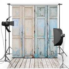 MEHOFOTO Porta de Madeira Fotografia Vinil pano de Fundo do Assoalho De Madeira Novo Tecido de Flanela Pano de Fundo Para As Crianças foto Adereços estúdio 1211