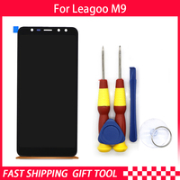 New original Touch Screen LCD Display LCD Screen For Leagoo M9 Replacement Parts + Disassemble Tool+ 3M Adhesive