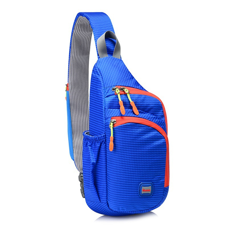 Outdoor Leisure Sport Bags Light Weight Chest Bag Shoulder Bag Riding Backpack Colorful Pockets Breathable And Sweat-absorbing