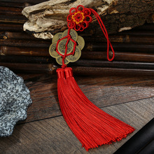 Chinese Knot Tassels Pendants 20 pcs DIY Mini Craft Knots Apparel Sewing Fabric Tassel Fringe New Year Gifts