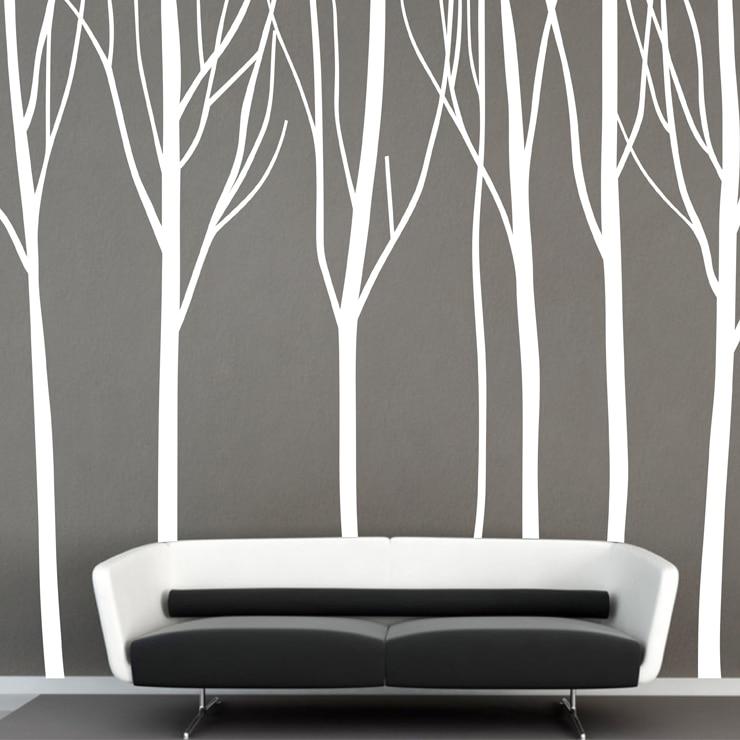̀ •́ Huge Tree Wall Stickers Forest Tree Big Branch Mural Art Wall ...