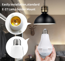 Light Bulb 360° Panoramic Security Camera