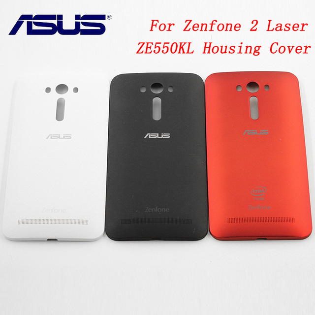 sports shoes a5c6d 10de0 US $4.49 10% OFF|Original ASUS Zenfone 2 Laser ZE550KL Replacement Back  Door Battery Case Rear Housing Cover,5.5 Inch-in Fitted Cases from  Cellphones ...