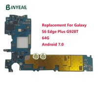 BINYEAE 64GB G928T Unlocked Main Motherboard Testing Good Replacement For Samsung Galaxy S6 Edge Plus G928T