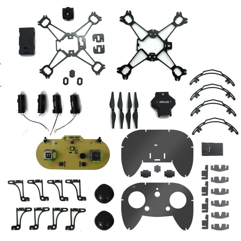 Diy Mini Drone Met/Zonder HD Camera Hoge Hold Modus RC Quadcopter RTF WiFi FPV Opvouwbare RC Drone - 2