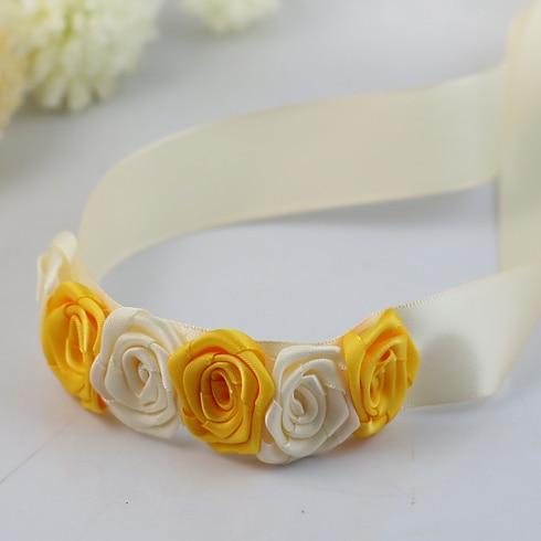 8 Colour Bride Wrist Corsage Wedding Bouquet Suit Rose Bridesmaid DIy Flowers Flower Party Accessories In Artificial Dried