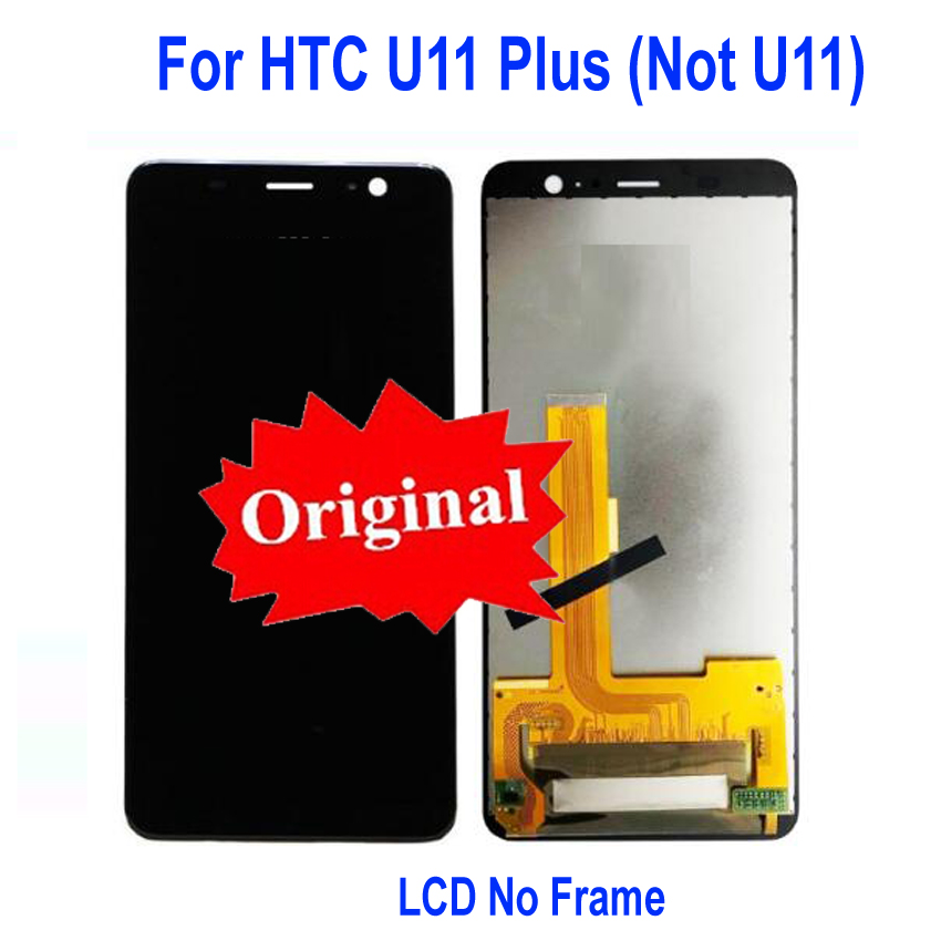 Best Working AMOLED LCD Display Touch Panel Screen Digitizer Assembly with frame For HTC U11 Plus U11+ 2Q4D200 Sensor PartsBest Working AMOLED LCD Display Touch Panel Screen Digitizer Assembly with frame For HTC U11 Plus U11+ 2Q4D200 Sensor Parts