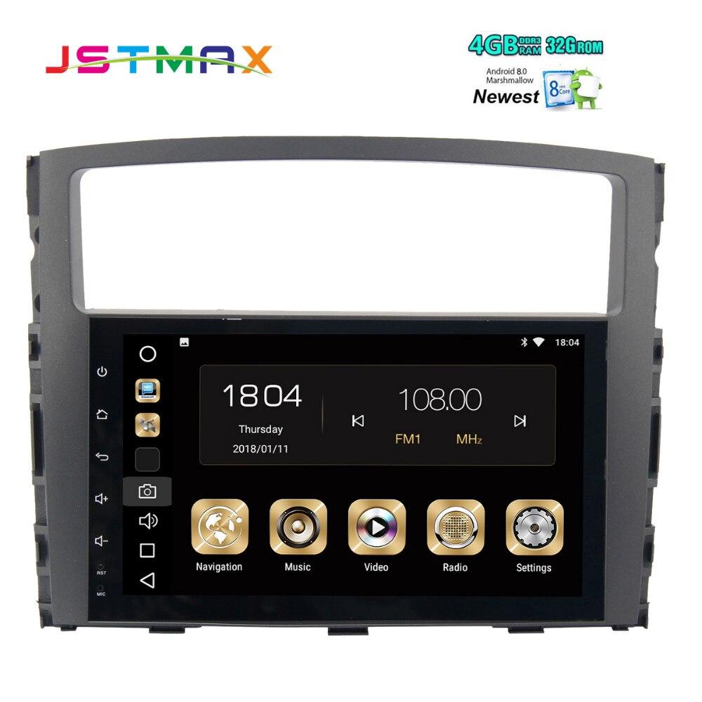 android 8.0 Octa Core 9 2 din car radio gps multmedia for Mitsubishi Pajero V97 V93 2006 2007 2008 2009 2010 2011 2012 2013 mp3