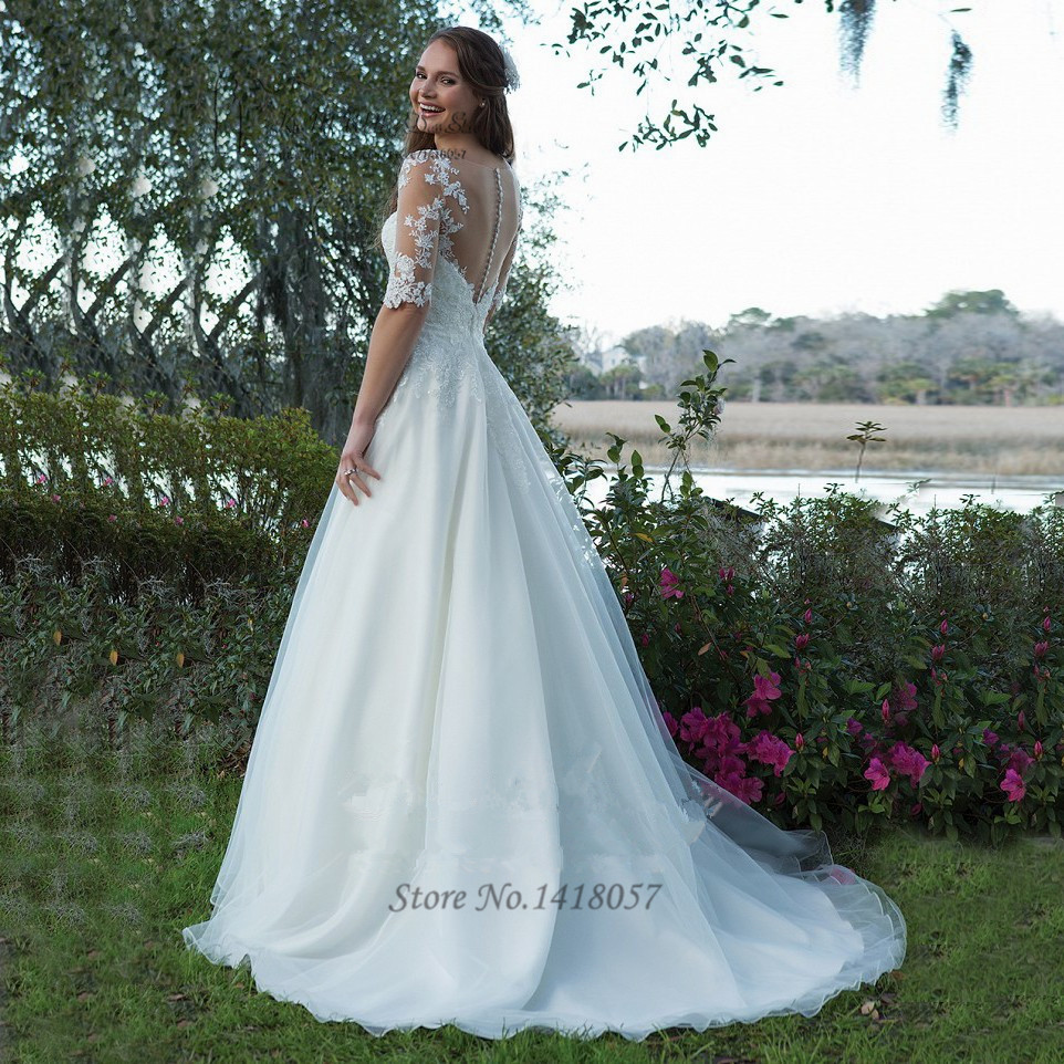 Amazing Vestidos De Novia Con Encaje Ideas - Wedding Ideas ...