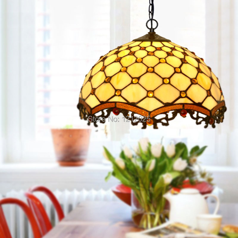 Antique Tiffany Hanging Lamp Value: Antique Tiffany Pendant Lamps Europe Simple Design Dinning