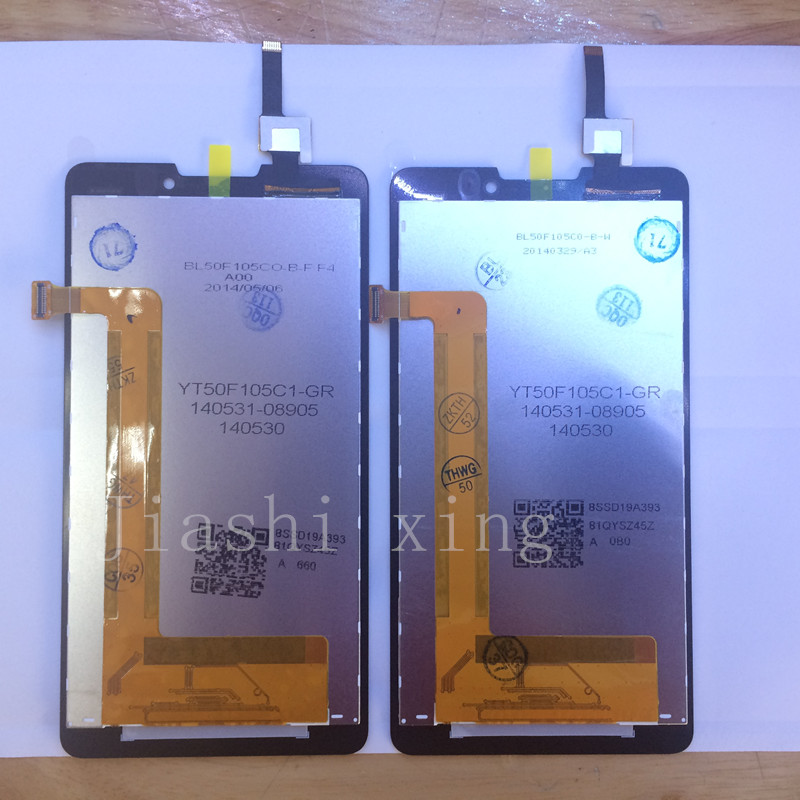 imágenes para Accesorios P780 Pantalla LCD + Pantalla Táctil Del Panel Digitalizador Para Lenovo P780 Smartphone de 5.0 pulgadas Envío Libre + Número de Pista