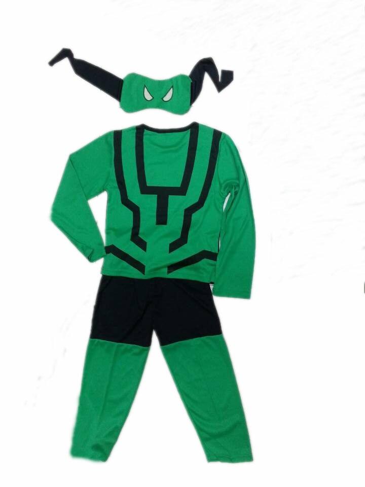 Halloween 3-7 yaşlı uşaq Göz maskası və 2 kostyum, Uşaq model - Karnaval kostyumlar - Fotoqrafiya 5