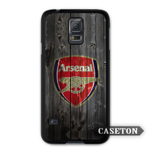 Arsenal Football Big Cubs Protective Case For Galaxy S8 S7 S6 Edge Plus S5 S4 S3 mini Win Note 5 4 3 A7 A5 Core 2 Ace 4 3 Mega