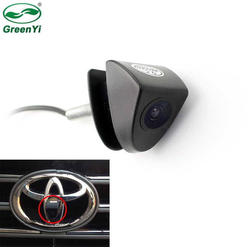 Navinio CCD Chip Car for Toyota Prado Highlander Land Cruis Camry Corolla Yaris Vizi REIZ Verso Logo Front Vorne Auto Camera