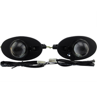 Front bumper headlight bifocal lens sport HID Xenon Halogen fog light lamp holder house for HONDA ACCORD CIVIC CROSSTOUR