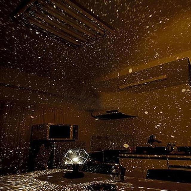 Romantic Planetarium Astro Star Laser Projector Cosmos Home - Laser lights for bedroom