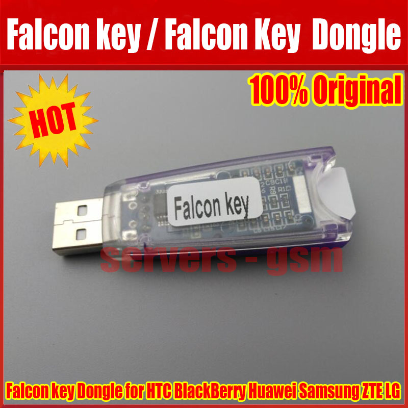 US $88 0 |Newest Original Falcon Dongle phones repair software tool for HTC  BlackBerry Huawei Samsung ZTE LG falcon key agaent-in Telecom Parts from