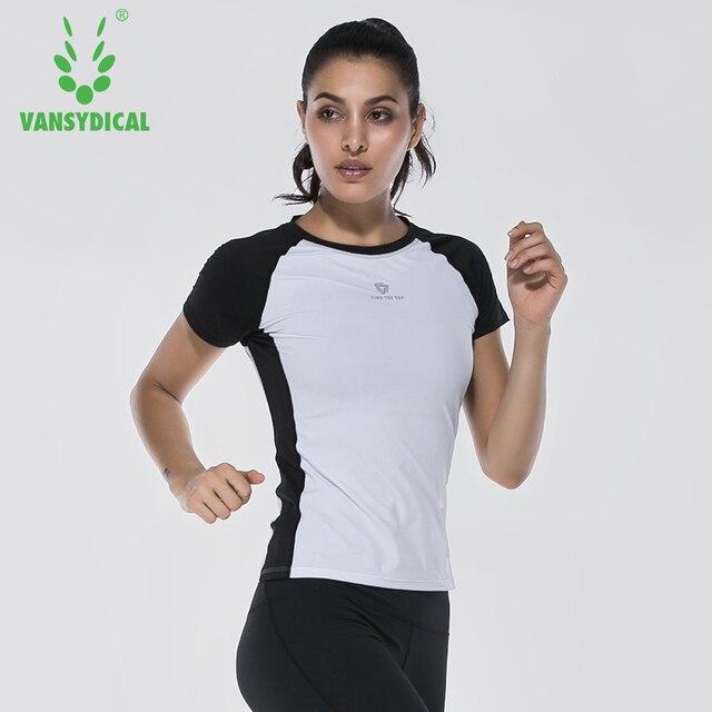 Women Running T Shirt Athletic Shirt Cool Dry Fit Yoga Shirts ...