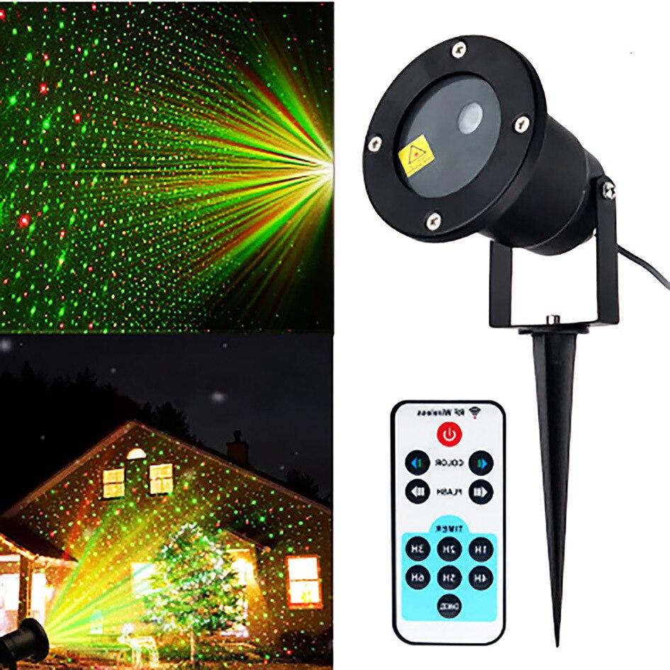 Christmas Fairy Laser Light Projector Moving Sky Star