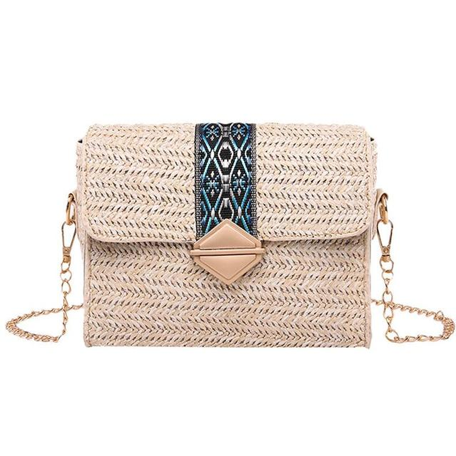 Bolsos Mujor Small Straw...