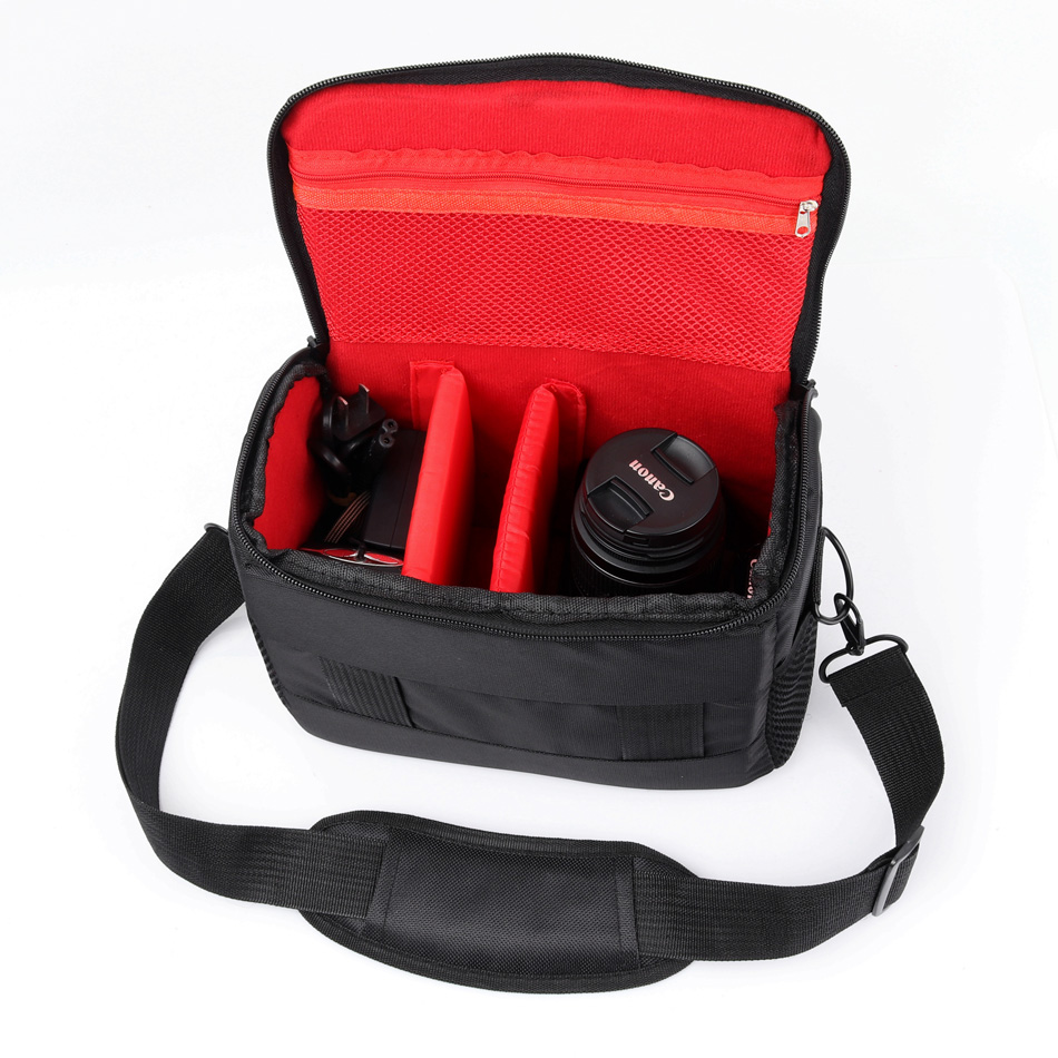 Waterproof DSLR Camera Bag Photo Case For Nikon D3200 D3100 D5100 D5200 D5300 D3400 D3300 D7200 D7100 D40 D90 D810 Shoulder Bag image