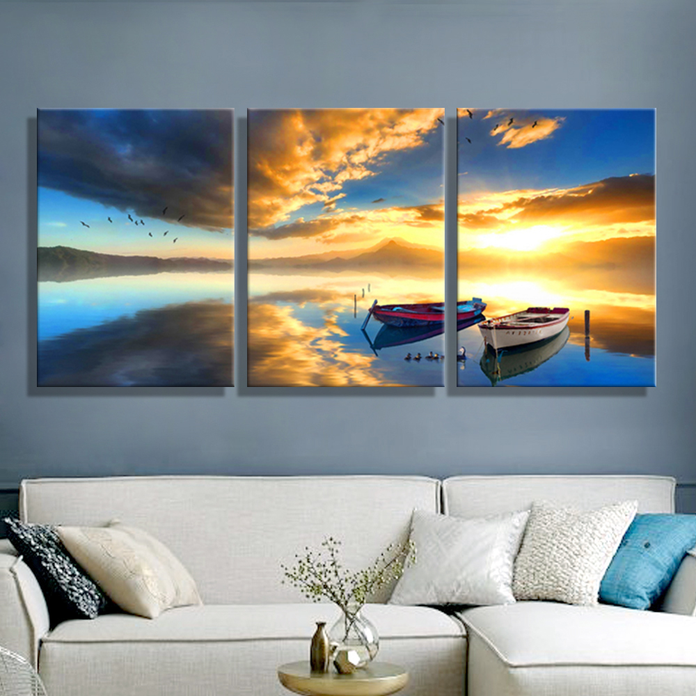 Buy oil painting canvas ships sea for Ship decor home