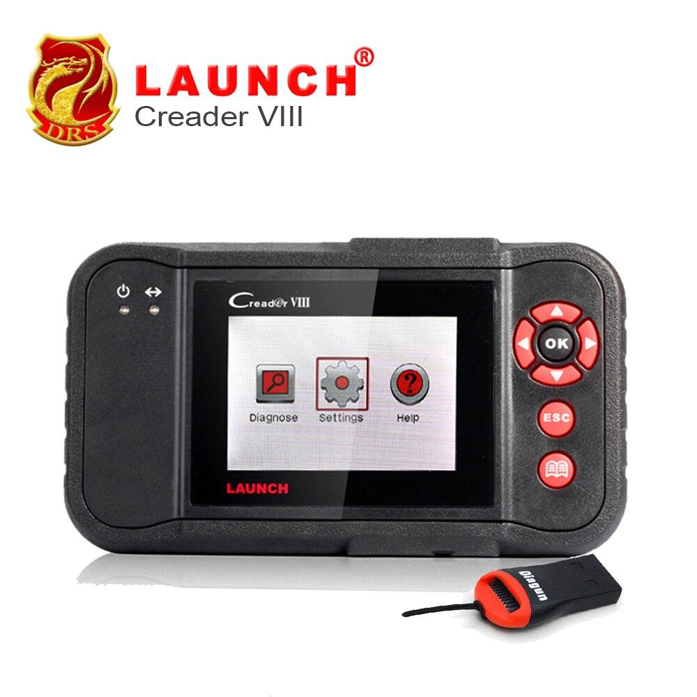 Prix pour Original Launch Voiture Scanner Creader VIII Code De Voiture Lecteur 8 Soutien 4 Système Moteur Transmission ABS Airbag De Voiture Outil De Diagnostic