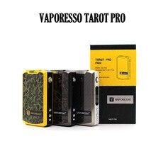 Authentic Vaporesso TAROT PRO 160W VTC Box Mod VW/CCW/VT/CCT/TCR/Bypass modes Upgradable Firmware VS TAROT 200W